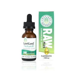 Raw 1080x1080 300x300 - Raw + | 1,800mg CBD Drops (Flavorless)