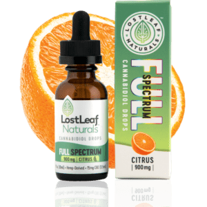 Full-Spectrum | 900mg CBD Drops (Citrus)